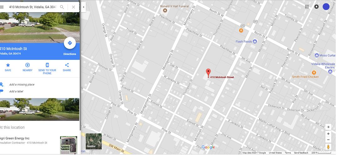 Copper Construction Company, Inc. Google Maps